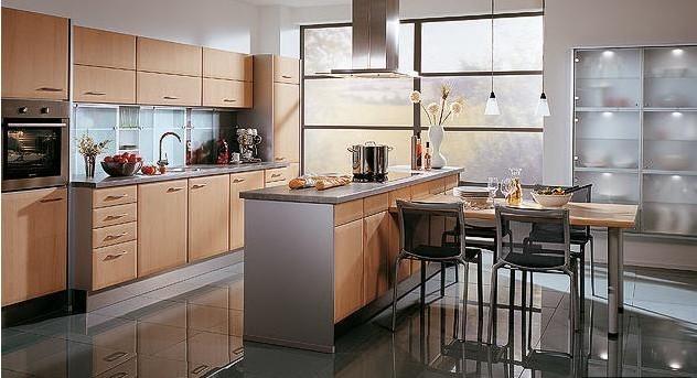 分离式厨房装修图