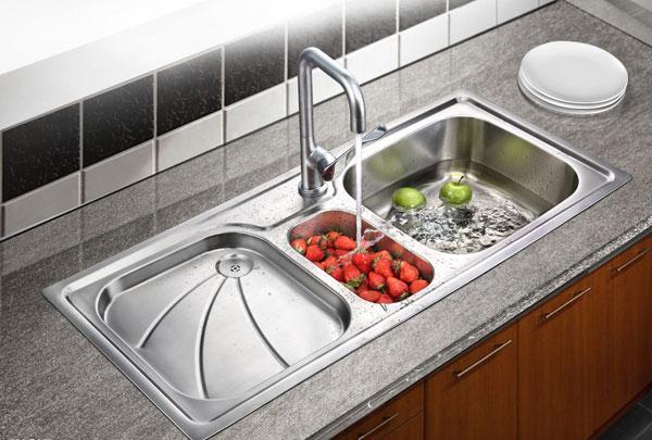 欧式不锈钢水槽