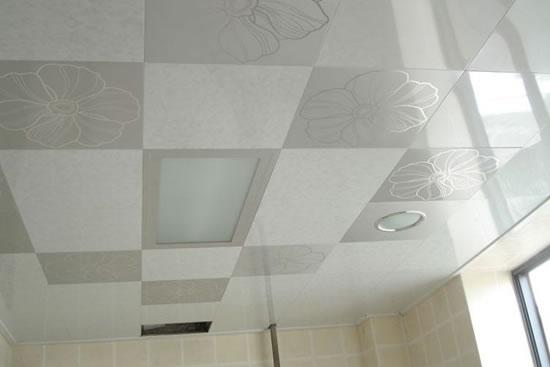 厨房吊顶用什么材料好 厨房吊顶效果图